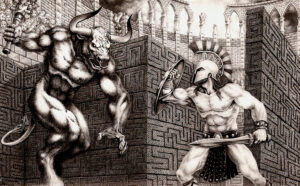 Theseus and the Minotaur Rogaine
